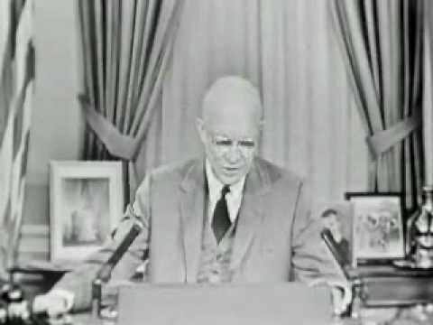 Eisenhower Speech, Science and National Security,11/7/1957