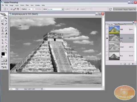 Photoshop Tutorial Create Stunning Black and Whites! tutvid