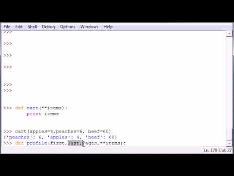 Python Programming Tutorial - 30 - Parameter Types