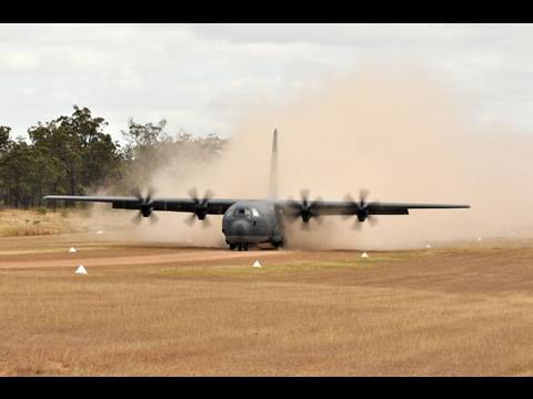 RAAF - C-130 Hercules at Precision Red