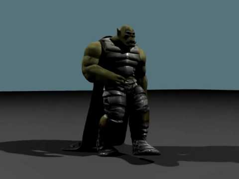 Orc Character update 3 - Hybrid Machinima.co.uk