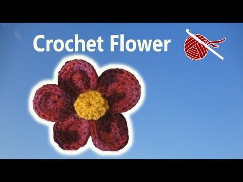 Crochet Flower Julia - Crochet Geek