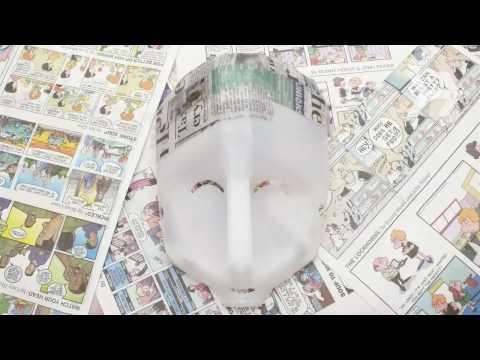 How To Make a Papier-Mache Mask