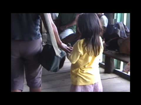 to protect from snake bites - Bringing shoes to kids in the Amazon Rainforest