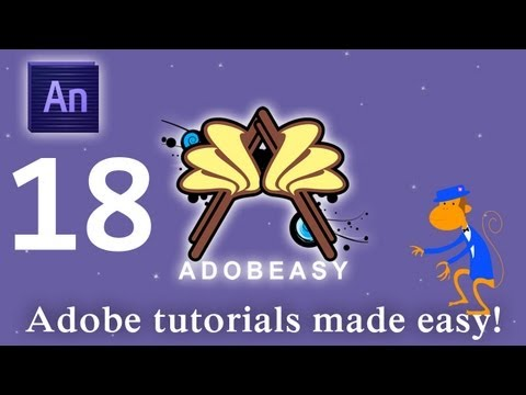 Adobe Edge Animate 1.0 Auto Keyframes and Transitions Tutorial