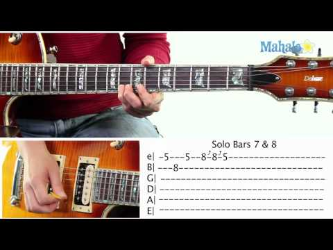 Mahalo Guitar Solo Course: Bars 7 and 8 Practice