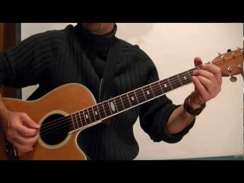 EASY FINGERPICKING BLUES ( Guitar Lesson ) With Tabs