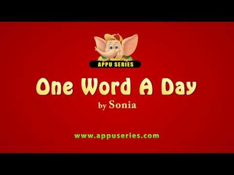 One Word A Day - Muster (HD)