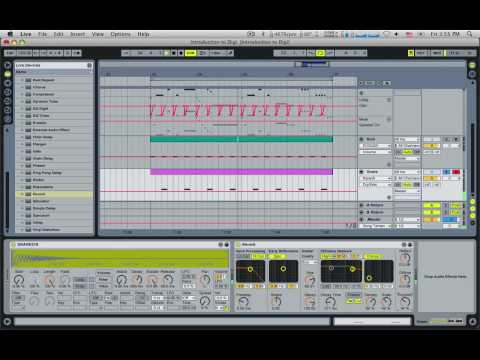 Electronic Music Tutorial (How to write beats) Part 2