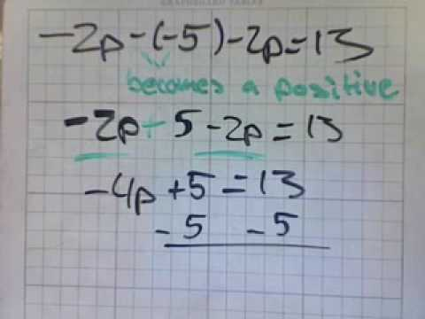 Algebra Equations II