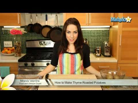 How to Make Thyme Roasted Potatoes
