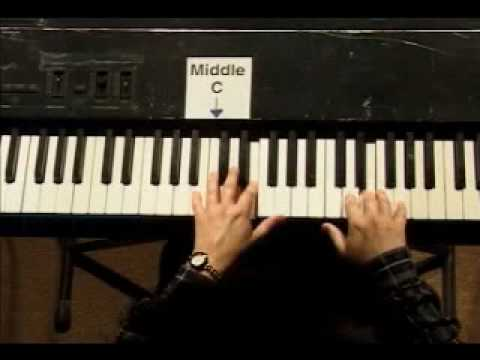 Piano Lesson - Kohler's Very Easiest Piano Studies #10