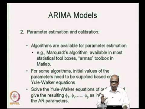 Mod-04 Lec-16 ARIMA Models - III