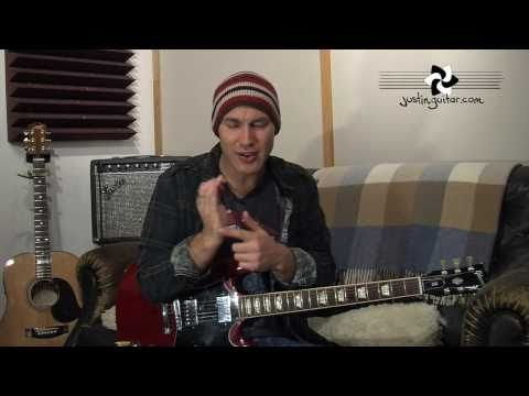 Intermediate Rhythm Guitar 5 (Guitar Lesson IM-155) How to play IF Stage 5