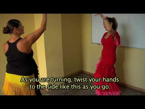 Dancing Flamenco in Spain