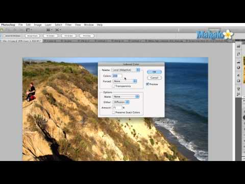 Learn Adobe Photoshop - Image Mode: Indexed Color
