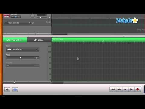 GarageBand Tutorial - MIDI Modulation