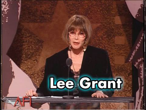 Lee Grant Salutes Sidney Poitier at AFI Life Achievement Award