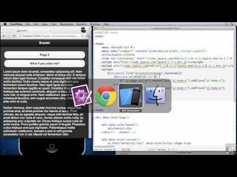 JQuery Mobile Tutorial | Orientation and Scroll Events | InfiniteSkills