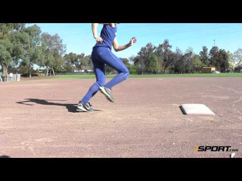 Base Running in Softball: Rounding First Base