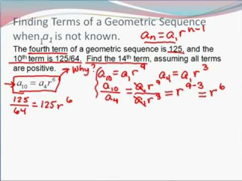 9.3 Geometric Sequences  Zarovy
