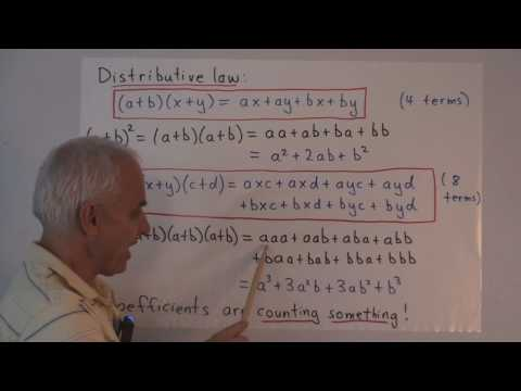 MF54: The Binomial theorem