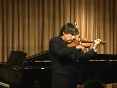 "Stradivari violin, ""The Antonius,"" played by Eric Grossman - Part 1 of 2"