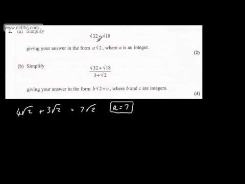 (q2) Core 1 Edexcel January 2012 quick worked answers