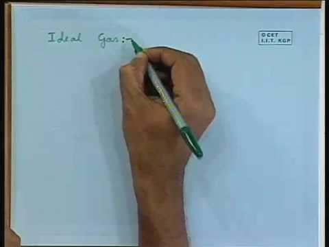 Lec-7 Ideal Gas Laws, Different Processes