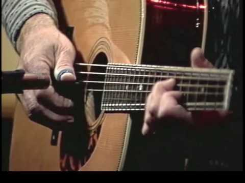 "Doc Watson performs ""Deep River Blues"" in the DVD ""Doc's Guitar: Fingerpicking & Flatpicking"""