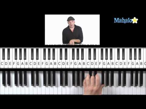 Learn Piano HD: How to Play ii, iii, vi Progression (Left Hand) in G on Piano