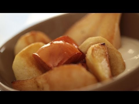 Vanilla Roasted Fruit Recipe: How to Make It || KIN EATS