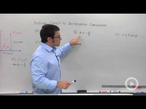 Precalculus - Converting from Rectangular Coordinates to Polar
