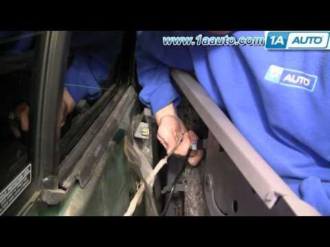 How To Install Replace REAR Door Panel Dodge Durango 98-03 1AAuto.com