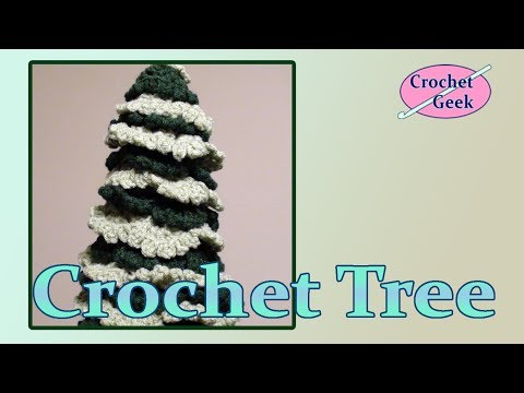 Crochet Christmas Holiday Tree