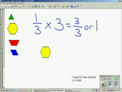 Multiplying Fractions by Wholes