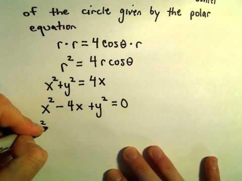 Graphing Special Polar Equations, Ex 1