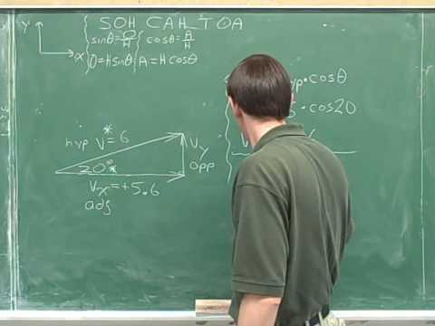 Physics: Vector components (42)