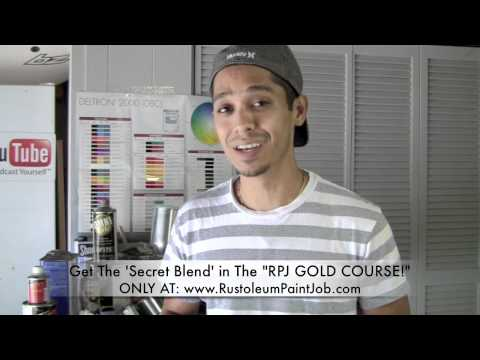 Fwd: The Rustoleum Car Paint Job Secret Blend Formula! NEW