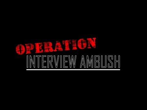 Interview Ambushed by Nerf Attack at TrainSignal