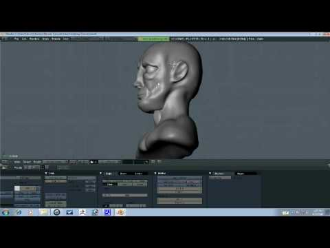 Blender Tutorial - Head Sculpting Part 7/9