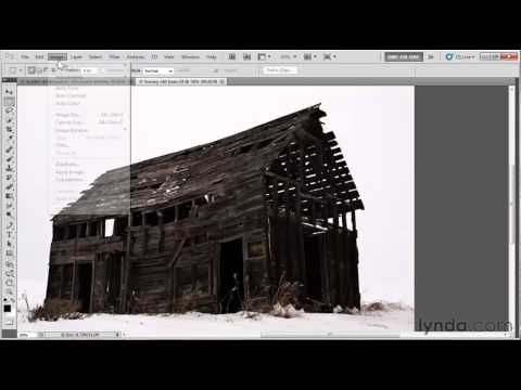 How to adjust contrast in Photoshop | lynda.com tutorial