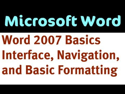 Introduction to Word 2007