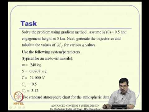 Mod-11 Lec-26 Classical Numerical Methods for Optimal Control