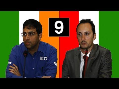 Anand vs Topalov - Game #9: 2010 World Chess Championship