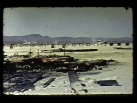 Damage and Destruction - Nuclear Test Film (Silent)