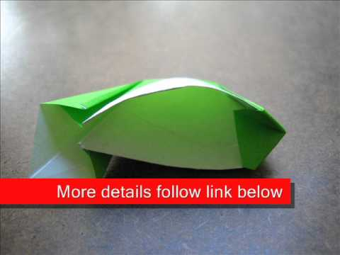 How to Fold Origami Cup - OrigamiInstruction.com