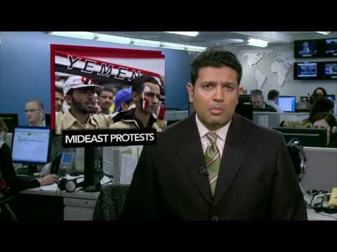 News Wrap: Yemeni Police Fire on Protesters, Injuring 50