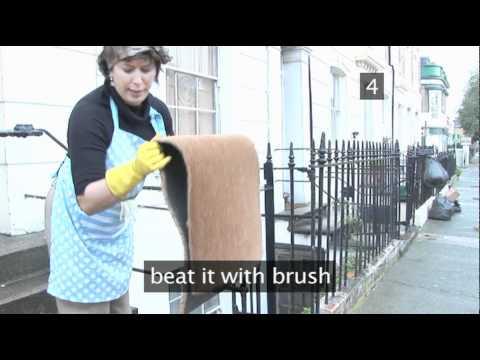 How To Clean A Door Mat