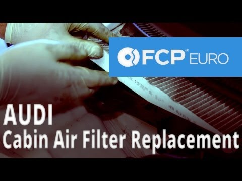 Audi Cabin Air Filter Replacement (A4) FCP Euro
